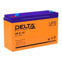 Аккумулятор для ИБП Delta HR 6-12 6V 12Ah