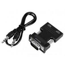 Аксессуар 5bites HDMI F - VGA M AP-024