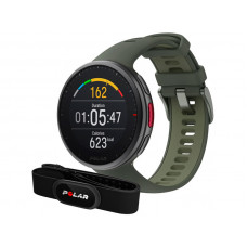 Часы Polar Vantage V2 HR Gen M/L Green 90083652