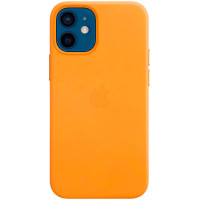 Чехол Apple iPhone 12 mini Leather MagSafe California Poppy