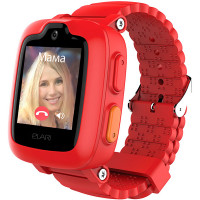 Детские часы Elari Kidphone 3G с голосовым помощником Red