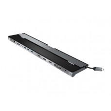 Док-станция J5create USB-C Triple Display Docking Station USB-C - 2xHDMI / DisplayPort / VGA / USB-C Downstream / USB-C Power / RJ45 / 3xUSB-A 3.1 / Card Reader / Combo Jack 3.5mm JCD543