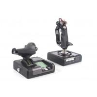Джойстик Logitech G Saitek X52 Pro Flight Control System 945-000003