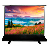 Экран напольный рулонный Cactus Floor Expert (CS-PSFLE-120X68) 16:9 68x120 см