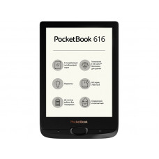 Электронная книга PocketBook 616 Obsidian Black PB616-H-RU Выгодный набор + серт. 200Р!!!
