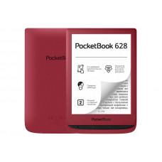 Электронная книга PocketBook 628 Ruby Red PB628-R-RU Выгодный набор + серт. 200Р!!!