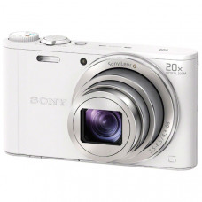 Фотоаппарат компактный Sony CyberShot WX350 White