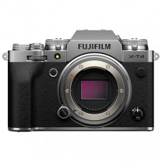 Фотоаппарат системный Fujifilm X-T4 Body Silver