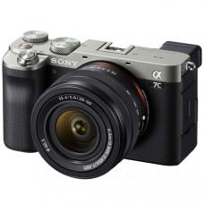 Фотоаппарат системный Sony Alpha 7C Silver Kit FE 28-60mm F/4-5.6