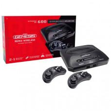 Игровая приставка Retro Genesis Remix Wireless (600игр 8+16bit)+2 беспр. геймпада