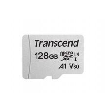 Карта памяти 128Gb - Transcend MicroSDXC Class10 UHS-I U3 A1 TS128GUSD300S-A