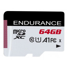 Карта памяти 64Gb - Kingston MicroSDXC Class10 High Endurance SDCE/64GB