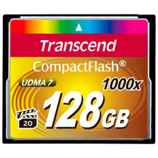 Карта памяти Transcend 128Gb CompactFlash Ultimate 1000x