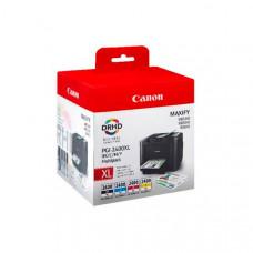 Картридж Canon PGI-2400BK/C/M/Y XL EMB MULTI для MAXIFY iB4040/MB5040/MB5340 9257B004