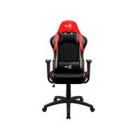Компьютерное кресло AeroCool AC100 AIR Black-Red