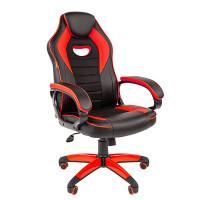 Компьютерное кресло Chairman Game 16 Black-Red