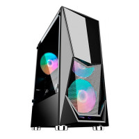 Корпус 1stPlayer DK-3 ATX Tempered Glass Black DK-3-BK-3G6
