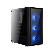 Корпус AeroCool Midi Tower Quartz Blue без б/п 68941