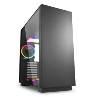Корпус для компьютера Sharkoon PURE STEEL RGB Black