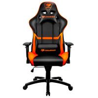 Кресло компьютерное игровое Cougar ARMOR Black-Orange