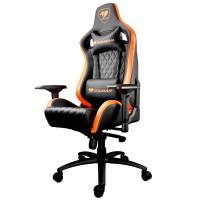 Кресло компьютерное игровое Cougar ARMOR S Black-Orange