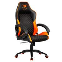 Кресло компьютерное игровое Cougar FUSION Black-Orange