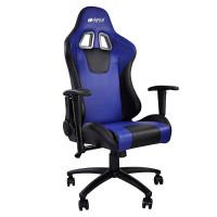 Кресло компьютерное игровое HIPER HGS-104-BK/BLUE