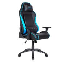 Кресло компьютерное игровое Tesoro TS-F715 Black-Blue