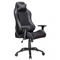 Кресло компьютерное игровое Tesoro TS-F717 Black (Mesh Fabric)