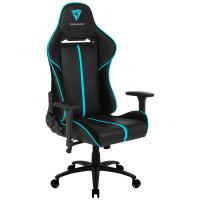 Кресло компьютерное игровое ThunderX3 BC5-Black-Cyan AIR