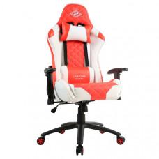 Кресло компьютерное игровое ZONE 51 СПАРТАК ГЛАДИАТОР White-Red Z51-SPRT1-WR