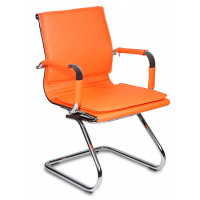 Кресло офисное Бюрократ CH-993-LOW-V/ORANGE оранжевое
