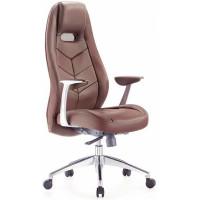 Кресло руководителя Бюрократ ZEN/BROWN коричневое
