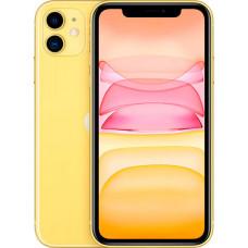 Мобильный телефон Apple iPhone 11 64GB с новой комплектацией (желтый)