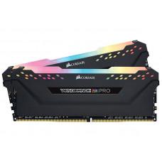 Модуль памяти Corsair Vengeance RGB Pro DDR4 DIMM 2666MHz PC4-21300 CL16 - 16Gb KIT (2x8Gb) CMW16GX4M2A2666C16