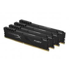 Модуль памяти HyperX Fury Black DDR4 DIMM 3600MHz PC28800 CL18 - 64Gb Kit (4x16Gb) HX436C18FB4K4/64