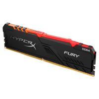 Модуль памяти HyperX Fury Black RGB DDR4 DIMM 2666MHz PC4-21300 CL16 - 8Gb HX426C16FB3A/8