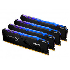 Модуль памяти HyperX Fury RGB DDR4 DIMM 3600Mhz PC-28800 CL17 - 32Gb KIT (4x8Gb) HX436C17FB3AK4/32