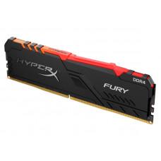 Модуль памяти Kingston HyperX Fury RGB DDR4 DIMM 3200Mhz PC-25600 CL16 - 16Gb HX432C16FB3A/16