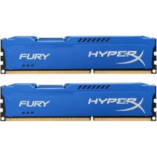 Модуль памяти Kingston HyperX Fury Series DDR3 DIMM 1600MHz PC3-12800 CL10 - 16Gb KIT (2x8Gb) HX316C10FK2/16