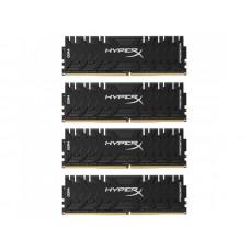 Модуль памяти Kingston HyperX Predator DDR4 DIMM 3000MHz PC4-24000 CL15 - 32Gb KIT (4x8Gb) HX430C15PB3K4/32