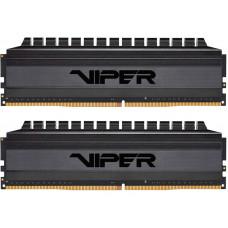 Модуль памяти Patriot Memory Blackout DDR4 DIMM 3600MHz PC-28800 CL18 - 64Gb Kit (2x32Gb) PVB464G360C8K