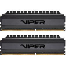 Модуль памяти Patriot Memory Blackout DDR4 DIMM 3600MHz PC4-28800 CL17 - 16Gb KIT (2x8Gb) PVB416G360C7K