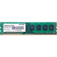 Модуль памяти Patriot Memory DDR3 DIMM 1333Mhz PC3-10600 CL9 - 4Gb PSD34G13332