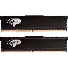 Модуль памяти Patriot Memory Signature DDR4 DIMM 2666Mhz PC21300 CL19 - 32Gb Kit (2x16Gb) PSP432G2666KH1