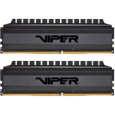 Модуль памяти Patriot Memory Viper Blackout DDR4 DIMM 3600MHz CL18 - 16Gb Kit (2x8Gb) PVB416G360C8K
