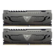 Модуль памяти Patriot Memory Viper Steel DDR4 DIMM 3600MHz PC4-28800 CL18 - 32Gb KIT (2x16Gb) PVS432G360C8K