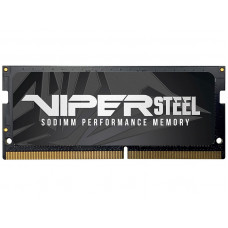 Модуль памяти Patriot Memory Viper Steel DDR4 SO-DIMM 3000MHz PC-24000 CL18 - 16Gb PVS416G300C8S