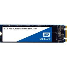 Накопитель SSD 2 Тб Western Digital Blue (WDS200T2B0B) M.2 2280