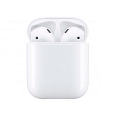 Наушники Apple AirPods (ver2) Silicone Blue Case в зарядном футляре MV7N2RU/A Выгодный набор + серт. 200Р!!!